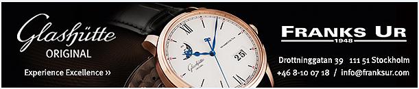 Franks Ur.Återförsäljare för Glashütte Original